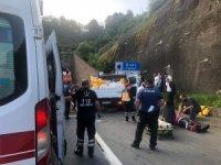 Tünel girişinde kaza: 1 ölü, 5 yaralı