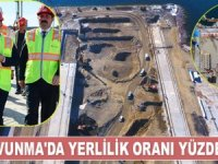Bülent Turan: Milli Savunma'da yerlilik oranımız yüzde 70 oldu