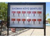 Tunceli'de 12 sivil şehit için yapılan anıt açıldı