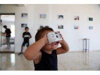 Köy çocukları, çektiği köyde fotoğraf sergisi açıldı