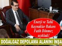 Fatih Dönmez: Dünyanın en büyük doğalgaz depolama alanını inşa ediyoruz