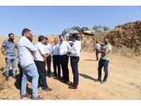3 bin 500 tonluk yeni su deposunun temel kazısına başlandı