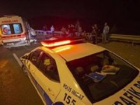 Keçiören'de korkunç kaza: Lastik değiştiren belediye işçilerine TIR çarptı