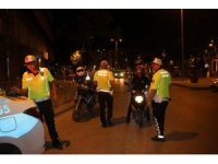 Çankırı'da kural ihlali yapan sürücülere ceza kesildi