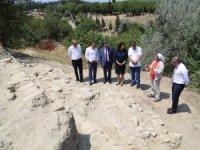 Eceabat Maydos Höyüğünde kazı çalışmaları devam ediyor