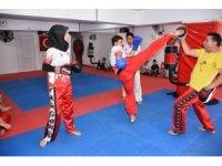 Kırıkkale'deki kick boksçular uluslararası turnuvalarda Türkiye'yi temsil edecek