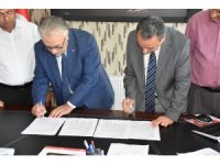 Aksaray'da Canlı Hayvan Borsası ve Besicilik Alanı için imzalar atıldı