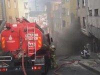 Kağıthane'de vatandaşları korkutan yangın!