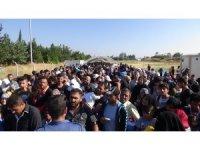 Bayram için ülkelerine giden Suriyelilerin sayısı 20 bini aştı