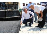 Pamukkale Belediyesi asfalt mesaisine devam ediyor