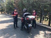 Motosiklet sürücülerine 95 bin lira ceza kesildi