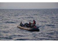 Enez açıklarında 36 düzensiz göçmen yakalandı