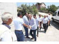 Başkan Kavuş, mahalle ziyaretlerine devam ediyor