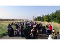 Bayram için ülkelerine giden Suriyelilerin sayısı 26 bini buldu