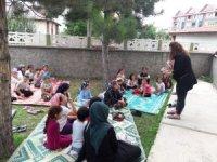 Çocuklara sağlık eğitimi verildi