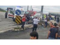 Giresun'da trafik kazası 3 ölü, 1 yaralı