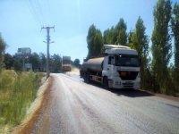 Kavaklıdere'de yol çalışmaları devam ediyor