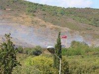 İstanbul'da askeri alanda yangın!