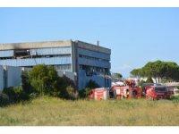 Ayvalık'ta aynı bölgede 3 gün arayla ikinci fabrika yangını