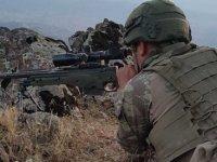 PKK'ya darbe üstüne darbe: 7 terörist etkisiz hale getirildi