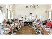 Trakya Üniversitesi Yönetim Kurulu Toplantısı Şerbet Evi'nde gerçekleştirildi