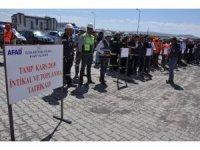 Kars'ta, TAMP İntikal ve Toplanma Tatbikatı gerçekleştirildi