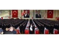 Erzincan POMEM'de mezuniyet heyecanı