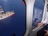Yavuz, Doğu Akdeniz'de Karpaz-1 için sondaja başladı