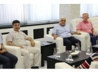 Milletvekili Dülger Rektör Karacoşkun'la bir araya geldi