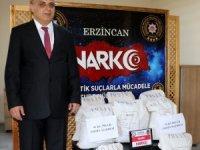 Erzincan'da 3,5 milyon TL değerinde eroin ele geçirildi
