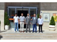 Rektör Öztürk'ten Sınav Koordinatörlüğü'ne  ziyaret