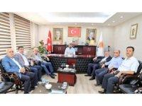 AK Parti Mardin İl Başkanı Kılıç belediye başkanları ile bir araya geldi