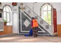 Çan Belediyesinden camilerde bayram temizliği