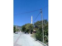 Depremde caminin minaresi kaydı