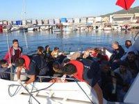 Çanakkale'de 41 düzensiz göçmen yakalandı