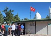 Hayırsever vatandaşın yaptırdığı Mescit ibadete açıldı