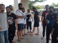 Nijerya'da kurtarılan 10 Türk gemici Abuja Büyükelçiliğinde!