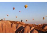 Kapadokya'da balon turları iptal oldu