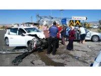 Bayramlaşma yolunda trafik kazası: 7 yaralı