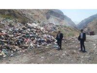 Başkan Karaman, çöp merkezini denetledi