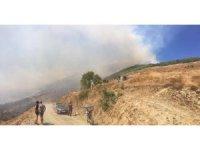 Marmara Adası'nda yangın kontrol altına alınamıyor