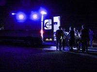 Kütahya'da feci kaza: Otomobil yayalara çarptı