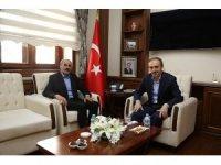 MHP İl Başkanı Kasap, Vali Epcim'i ziyaret etti