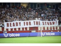 UEFA Avrupa Ligi: Trabzonspor: 1 - Sparta Prag: 0 (İlk yarı)