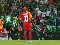 Aslan'ı horoz gagaladı:2-0... Galatasaray lige kayıpla başladı!