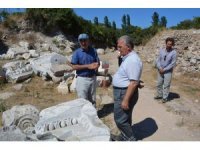 Kaymakam Çalık Kyzikos'u ziyaret etti
