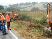 Pazaryeri Bursa yolunda 5'nci etap çalışmaları başladı