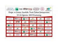 Tenis Doğu Ligi'nde sekizinci yıl heyecanı Gaziantep'te yaşanacak