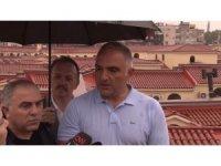 Kültür ve Turizm Bakanı Ersoy'dan Kapalıçarşı'da aşırı yağış açıklaması