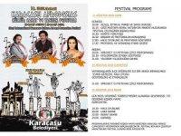 Ünlü sanatçılar Karacasu'da sahne alacak